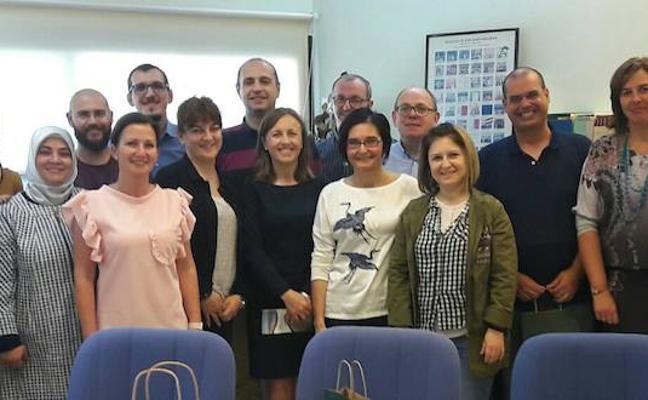 El IES Murgi coordina a cinco centros europeos en un proyecto Erasmus + que diseña aplicaciones móviles