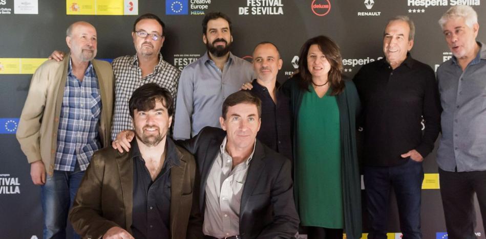 Martín Cuenca celebra en El Ejido el estreno nacional de 'El autor'