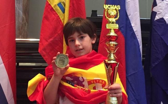 El ejidense Rodrigo Molero se convierte en subcampeón del mundo de cálculo mental