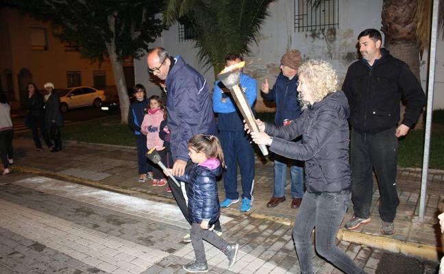 La llama de San Antón, lista para llegar a Santa María del Águila