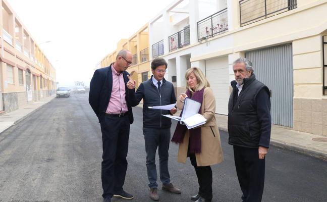 240.000 euros para mejorar calles en Santa María del Águila y Las Norias