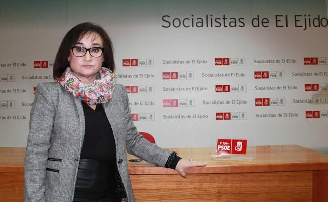 El PSOE de El Ejido se suma a la huelga feminista del día 8 de marzo