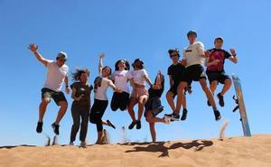 Un largo camino para llevar la sonrisa desde El Ejido a escolares de Sudáfrica