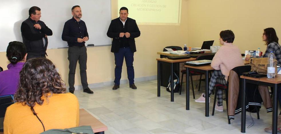 60 personas se forman en El Ejido a través de los cursos de formación para el empleo