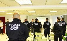 Agentes de la Policía Local de El Ejido se forman en materia de seguridad ciudadana
