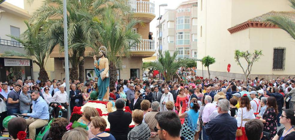 Música y buen ambiente en la procesión romería de San Marcos en El Ejido