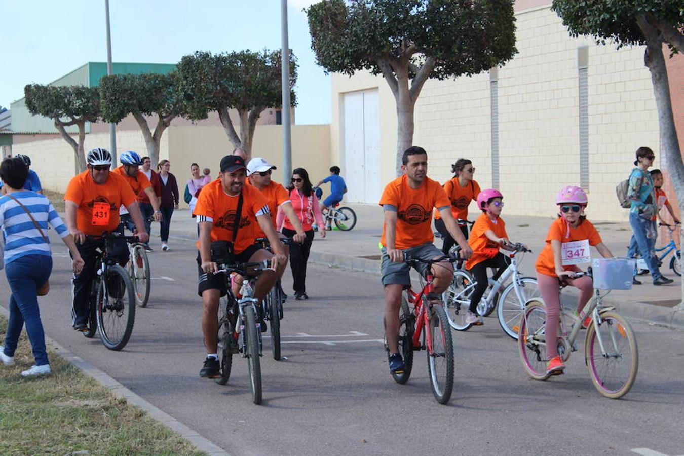 Diversión a golpe de pedales en Las Norias