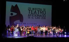 La Muestra de Teatro aficionado entrega el testigo del arte al Festival de Teatro