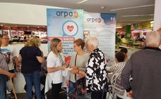 ARPA hace tomas de tensión para celebrar el Día Mundial de la Hipertensión