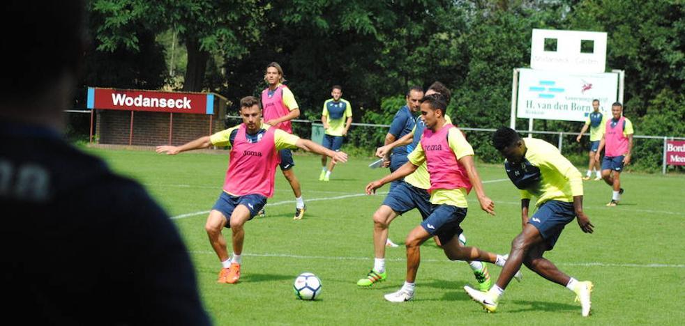 Así ha sido la primera sesión del Granada CF en Holanda