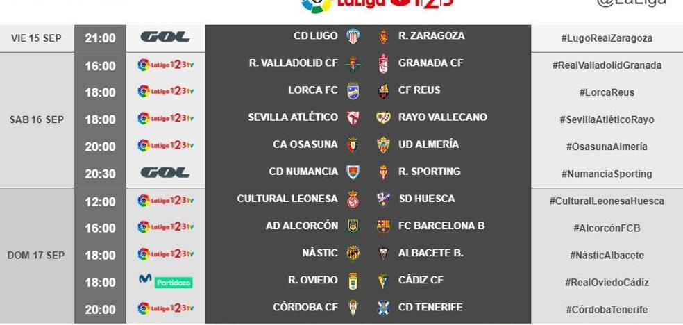 El Granada CF jugará en Pucela el sábado 16 de septiembre