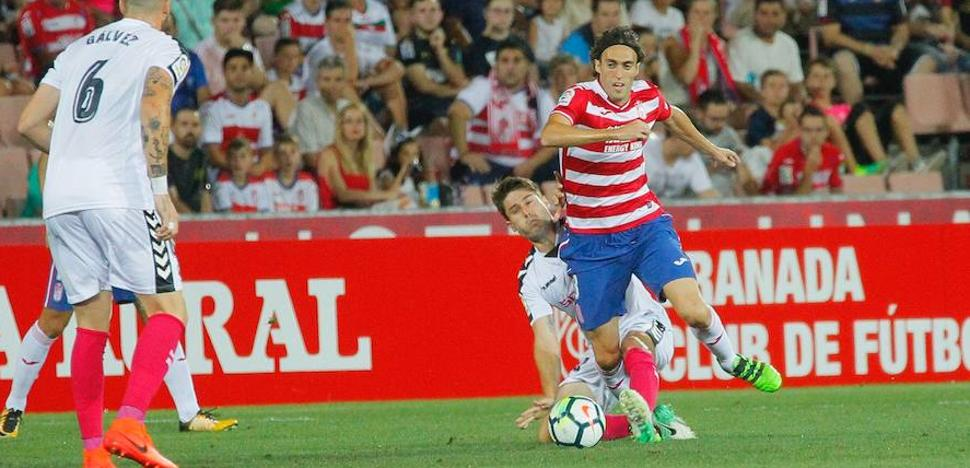 Empate en Los Cármenes en el estreno del Granada CF en Segunda