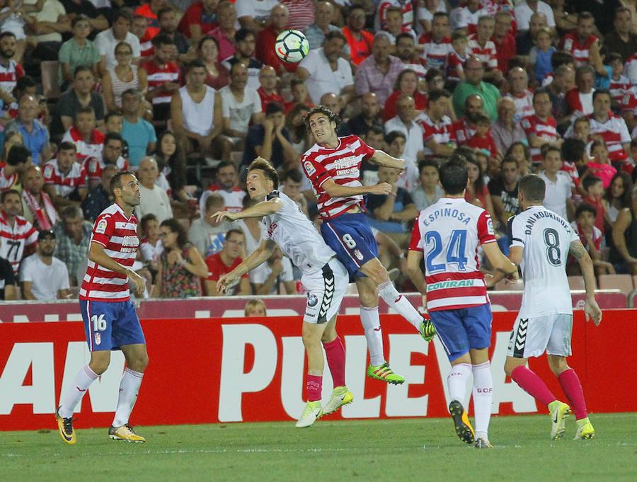 Las mejores imágenes del encuentro del Granada CF