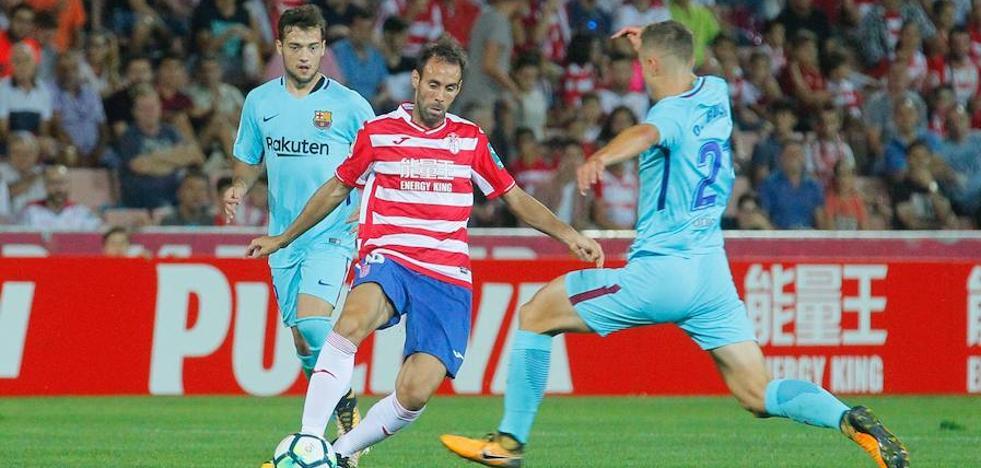 Empate en el Granada CF- Barcelona B (2-2)