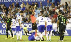 Borja Iglesias, cifras de crack fraguadas en parte contra el Granada CF