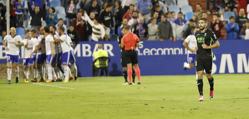El Zaragoza despide de la Copa a un Granada depresivo
