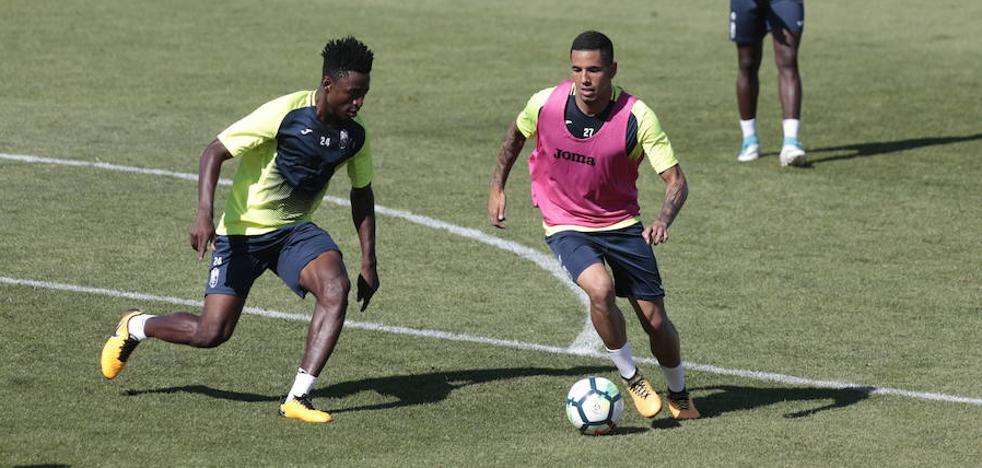 Peña, Montoro y Ramos vuelven a ejercitarse con el grupo