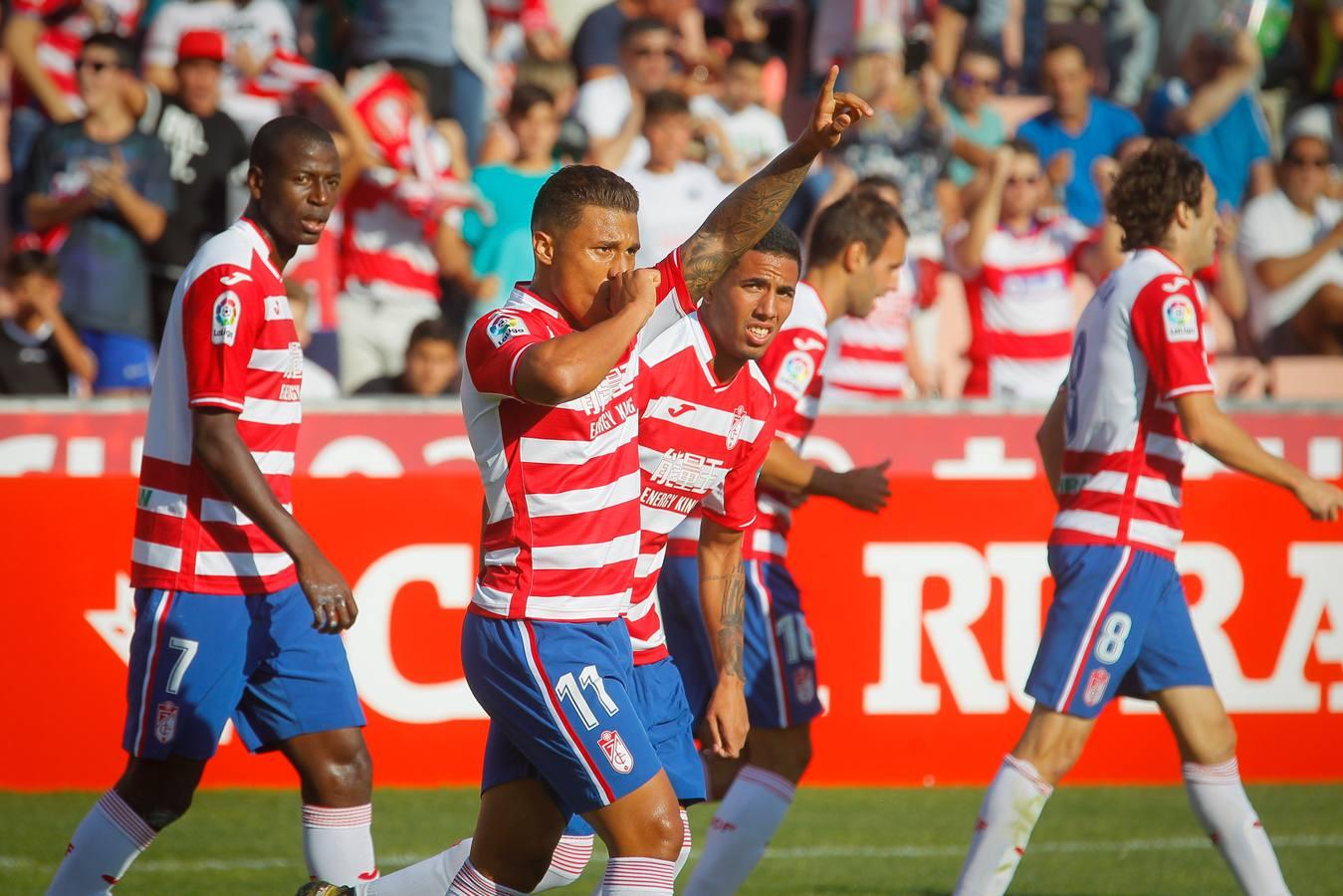 La primera victoria del Granada en imágenes
