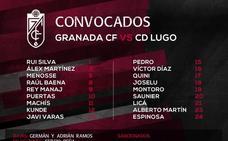 Espinosa por Peña, la novedad de la lista ante el Lugo