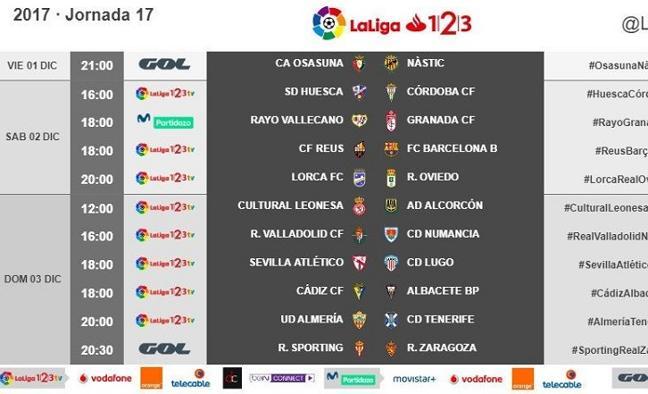 El Rayo Vallecano-Granada, el sábado 2 de diciembre a las 18:00 horas