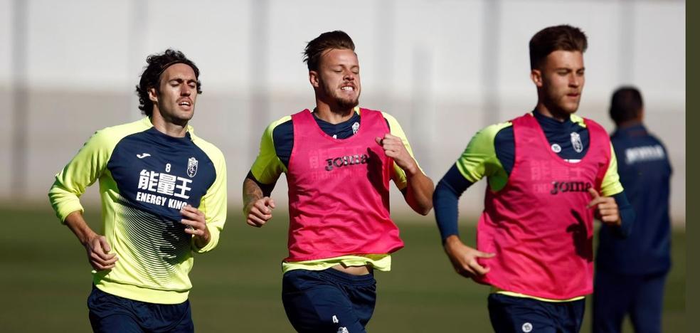 Ramos y Joselu continúan sin entrenar