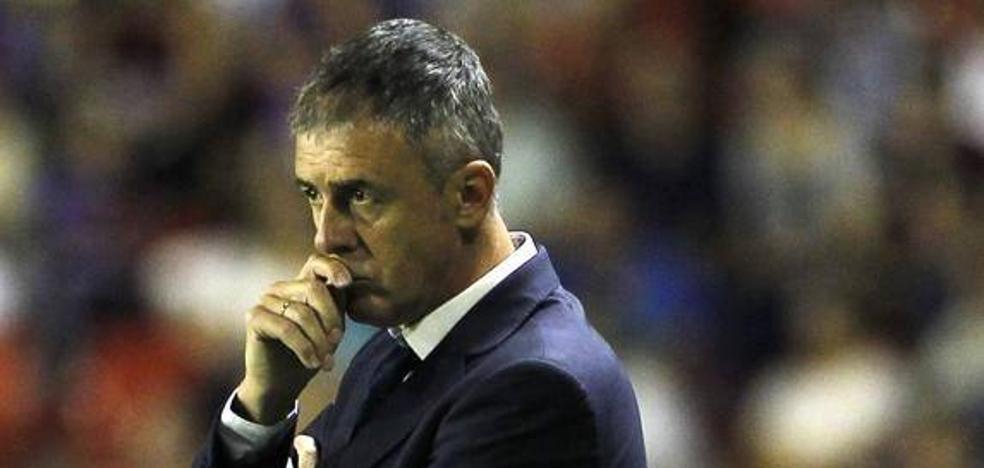 Lucas Alcaraz, entrenador de la UD Almería