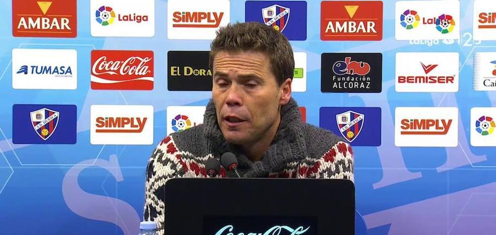 """Rubi: """"El Granada no nos ha dejado respirar en ningún momento"""""""