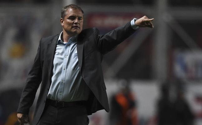 """Diego Aguirre: """"Vallecas tiene que ser una olla a presión contra el Granada"""""""