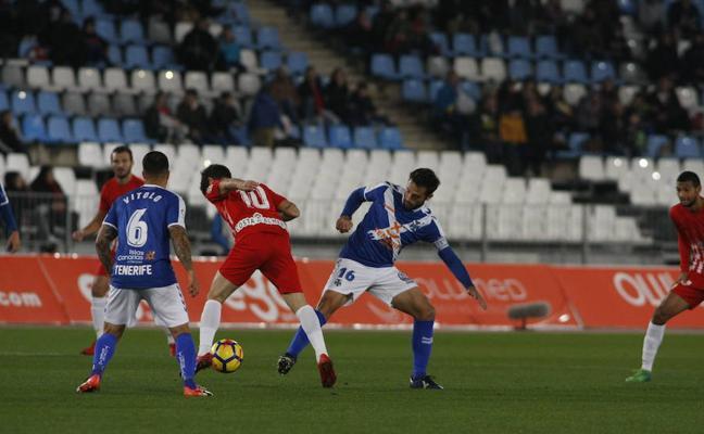 Un Almería con riesgo de alergia en Los Cármenes