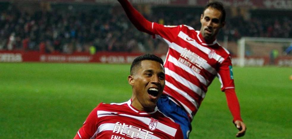 Darwin Machís protagoniza la mejor primera vuelta goleadora de su carrera