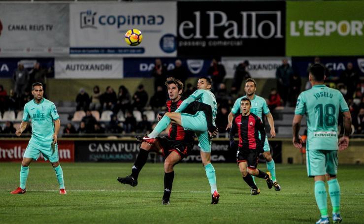 El partido entre Reus y Granada, en imágenes