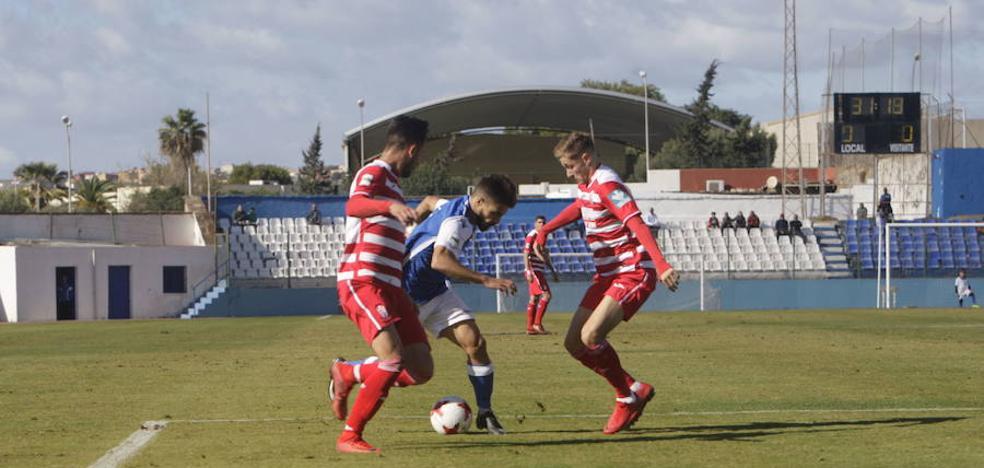 El Granada B prepara la segunda vuelta con un amistoso ante el Real Jaén