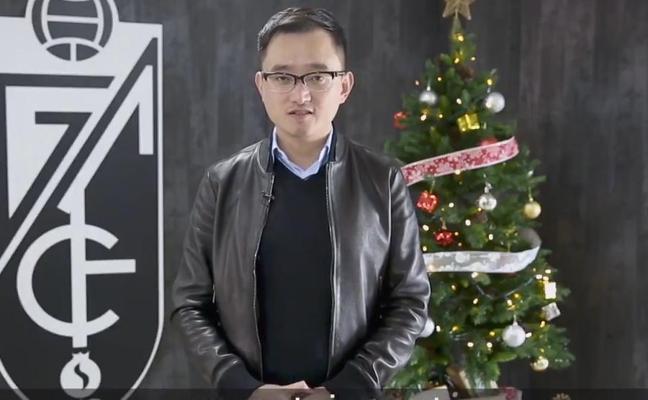 "Jiang desea a 2018 que ""traiga suerte para volver a Primera"""