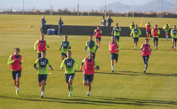 Así fue el primer entrenamiento del Granada CF de 2018