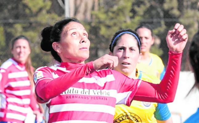 Goleada del Granada Femenino al Santa Teresa B