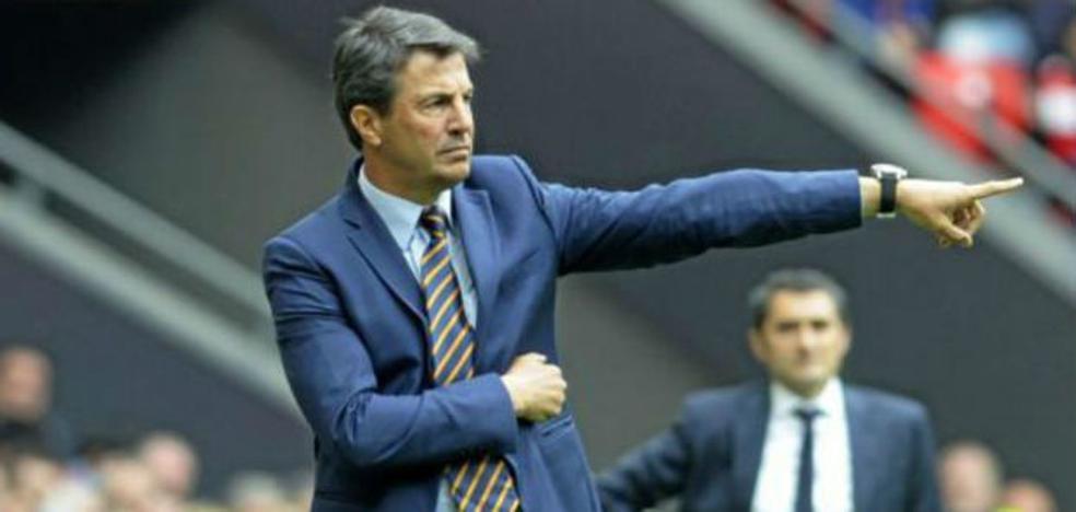 José González sustituye a Míchel en el banquillo del Málaga