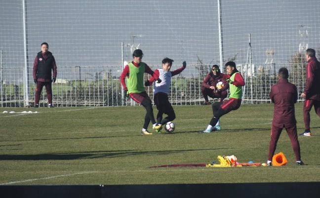 El Chongqing Lifán, en la ciudad deportiva del Granada