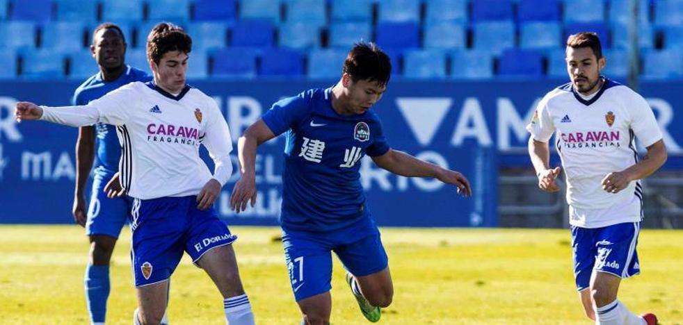 El Real Zaragoza empata en un amistoso con el Henan Jianye