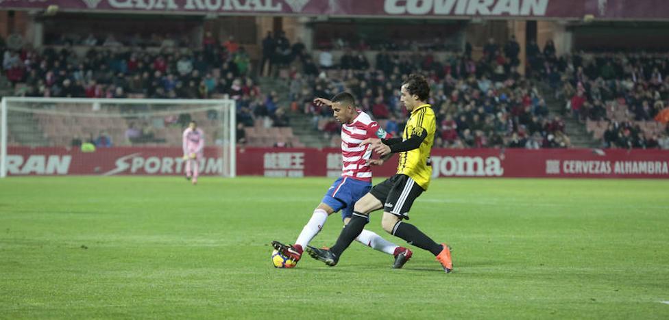 Fin del partido: el Granada CF vence al Zaragoza