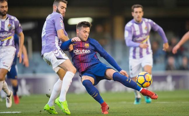 Arnáiz, posible baja para el Barcelona B-Granada