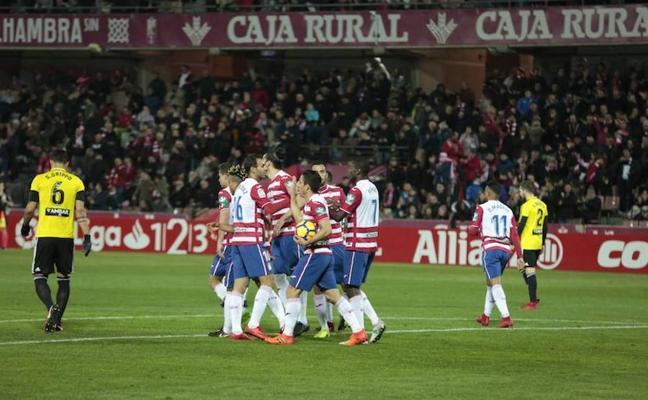 El Granada finaliza la jornada dentro del 'play off' de ascenso