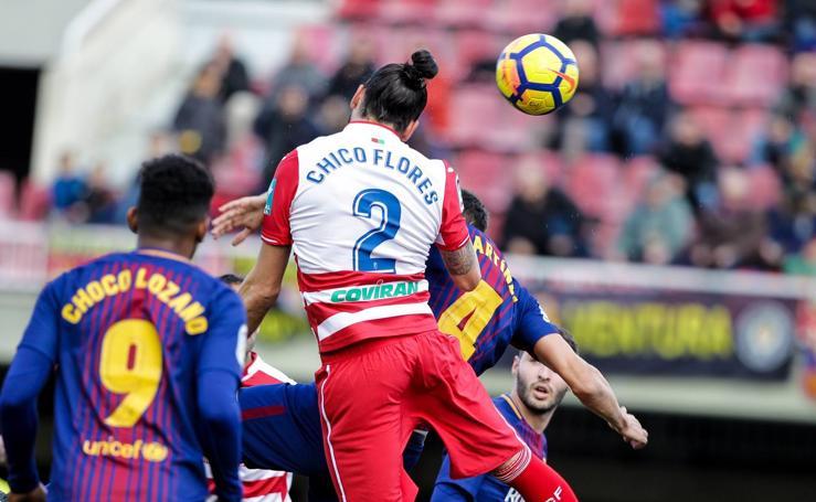 Barcelona B - Granada CF, otra visita desastrosa