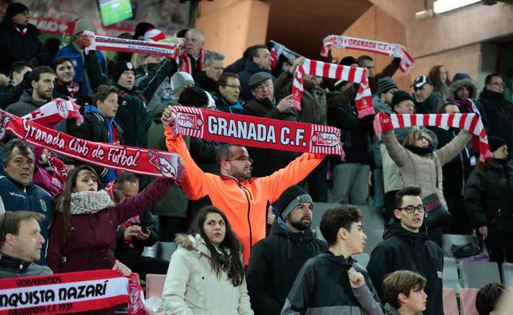 Encuéntrate en las gradas del Granada CF