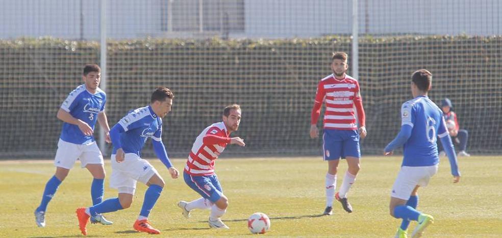 Empate sin goles entre el Granada B y el San Fernando