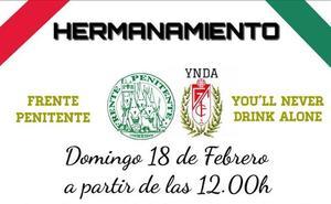 Las Peñas Frente Penitente y You´ll Never Drink Alone tendrán un acto de hermanamiento antes del Córdoba-Granada