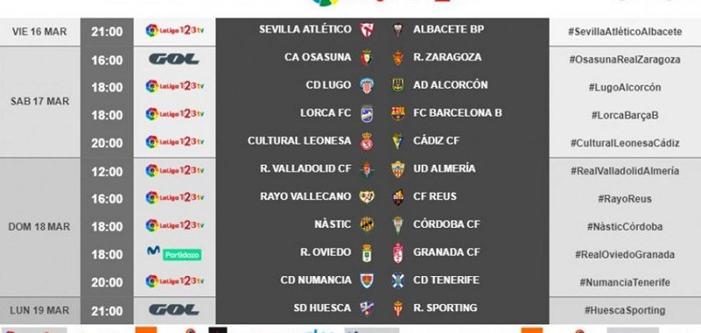 El Granada se medirá al Oviedo en el Tartiere el 18 de marzo