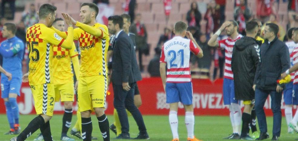 El Granada ha perdido los mismos partidos que Huesca y Rayo juntos