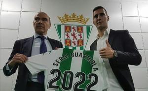 Sergi Guardiola amplía su contrato con el Córdoba