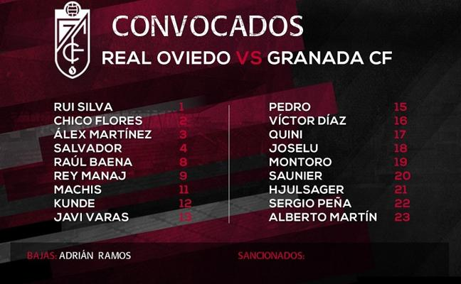 Oltra cuenta con Montoro y Rey Manaj en el intento por conquistar Oviedo