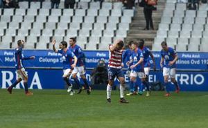 Tercera derrota consecutiva del Granada